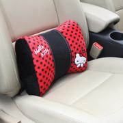 凯蒂猫 Hello Kitty系列 KT 大娇点系列 蝴蝶结车用护腰枕 红色