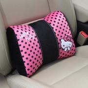 凯蒂猫 Hello Kitty系列 KT 大娇点系列 蝴蝶结车用护腰枕 粉红色