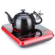美的 CK1601 简约时尚中国红小巧电磁炉系列之电茶炉(赠0.8L雅黑茶壶)