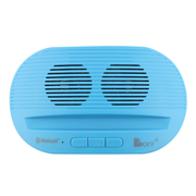 CKY RS219便携蓝牙音箱 双喇叭立体重低音 手机车载免提通话 户外随声迷你小音响 浅蓝色