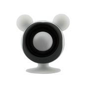 亚力盛 大耳鼠迷你便携吸盘支架小音箱 防水低音炮适用于手机平板电脑 白色