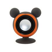 亚力盛 大耳鼠迷你便携吸盘支架小音箱 防水低音炮适用于手机平板电脑 灰色