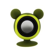 亚力盛 大耳鼠迷你便携吸盘支架小音箱 防水低音炮适用于手机平板电脑 绿色