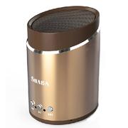 沙巴 蓝牙音箱电脑音箱便携式无线迷你音响车载低音炮 香槟金