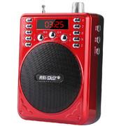 先科 小蜜蜂扩音器教学腰挂插u盘唱戏机大功率教师专用 黑色带录音 标配+8G歌戏卡
