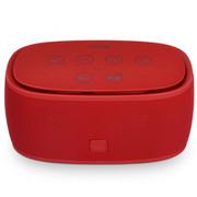 蒙奇奇 蓝牙音箱低音炮立体声 无线蓝牙插卡音响 NFC自动配对 红色