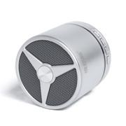 维尔晶 BT05DS无线蓝牙音箱 插卡音响 重低音低音炮 免提通话 1代银色
