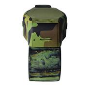 爱玛科 MX1 手表蓝牙音箱 免提电话TF卡MP3智能运动迷你插卡便携 音响 军绿色