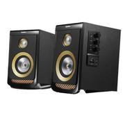 乐天下 M520启程 2.0多媒体书架桌面音箱低音炮家庭高清音响