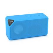 夏新 A9无线蓝牙音箱迷你低音炮手机小音响插卡音箱音乐播放器 宝石蓝 标配不含内存