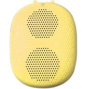 德仕 石头DS-1196 蓝牙语音音响,可插卡 可穿戴 黄色