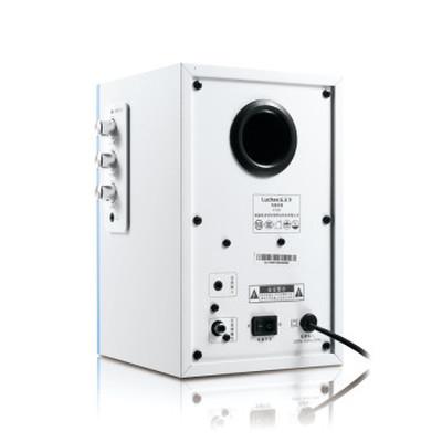 乐天下 luckee C126水韵 2.0有源多媒体音响 电脑桌面迷你音箱产品图片4