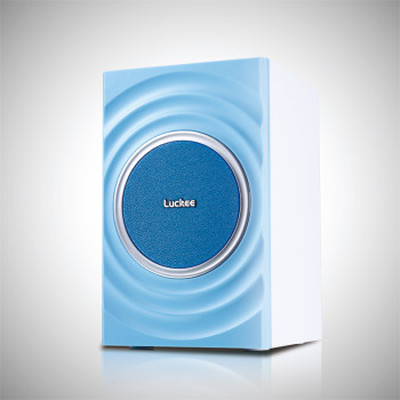 乐天下 luckee C126水韵 2.0有源多媒体音响 电脑桌面迷你音箱产品图片5