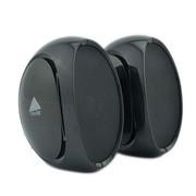 BRuno SMOO小音箱 迷你便携电脑USB音响 音质纯正防磁 带线控对箱 正品 黑色