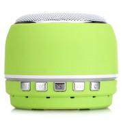 夏新 A1 无线音响 蓝牙音箱 插卡音箱 时尚音箱 绿色 锂电