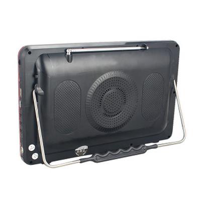 金正 视频播放器M22B 13寸高清播放器老人看戏机唱戏机支持全格式可插卡U盘 大 红色标配+4G戏曲广场舞视频卡产品图片2