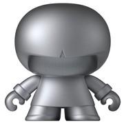 森泊 XBOY31007 公仔造型 双声道立体声 蓝牙音箱蓝牙音响 华丽声音超萌外形 银色
