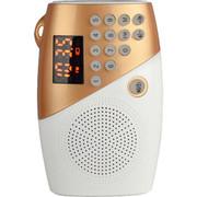 夏新 V8老人插卡音箱晨练收音机 儿童早教音乐播放器 土豪金+送8G卡