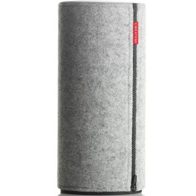 利勃登 ZIPP 便携式无线Wi-Fi音响 浅灰 小鸟音响,自由之声产品图片4