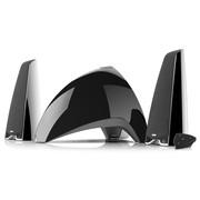 漫步者 E3360BT 时尚全功能多媒体音箱 黑色