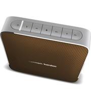 哈曼卡顿 Esquire 音乐精英 便携蓝牙音箱 会议扬声器 棕色