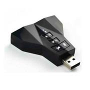 noosy 电脑声卡专业K歌7.1声卡独立声卡笔记本台式声卡外置USB声卡 黑色