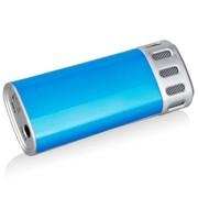 实捷 A610 手机唱吧K歌专用麦克风电脑K歌iphone 安卓手机 电容卡拉ok话筒 蓝色