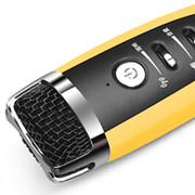 Totu more-thing适用于卡拉ok话筒唱吧麦克风苹果三星手机k歌电脑通用 黄色