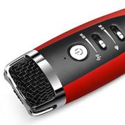 Totu more-thing适用于卡拉ok话筒唱吧麦克风苹果三星手机k歌电脑通用 红色