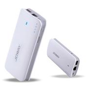 乔威 360wifi2 3G无线路由器 手机通用充电宝 wifi移动电源 6600毫安