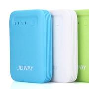 乔威 乔威 JP23移动电源10400毫安 手机平板通用型 大容量便携式充电宝 蓝色