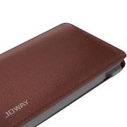 乔威 乔威 皮克手机充电宝移动电源 便携式聚合物移动电源5000毫安 褐色
