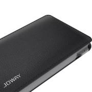 乔威 乔威 皮克手机充电宝移动电源 便携式聚合物移动电源5000毫安 黑色