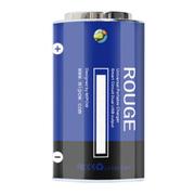 wisebrave 创意干电池造型 智能移动电源手机平板通用双USB 2.1A大容量充电宝 蓝色