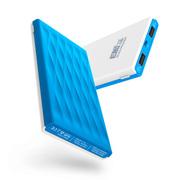 E能之芯(ELITEPOWER) 苹果iphone456S手机平板电脑充电宝迷你超薄锂聚合物10000毫安移动电源 白蓝
