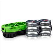 wisebrave PowerTrek 燃料电源 充电宝  无限大容量移动电源 高端电源 配六个燃料包