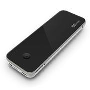 艾时 Gemini聚合物移动电源 平板智能手机通用型充电宝 便携迷你小巧移动电源 星空黑