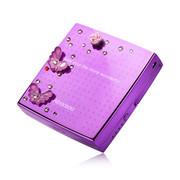 艾芭莎(Aibaasaa) 香港女士手机移动电源 聚合物锂电充电宝礼品定制 苹果/小米/三星通用 紫蝴蝶