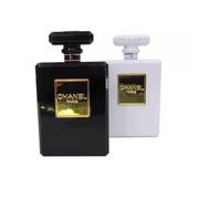 依波特 时尚香水瓶移动电源 双USB输出手机充电宝 女神必备手机通用充电宝 黑色