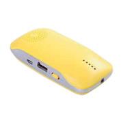 依波特 蓝牙移动电源音响多功能手机免提通话充电宝手机移动电源 手机充电宝 黄色