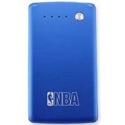NBA S-3500 至轻至薄 应急移动电源 3500毫安 金属外壳 通用型聚合物充电宝 蓝色
