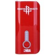 NBA L-52 5200毫安移动电源 安全便携小巧充电宝 手机通用型 红色(火箭队)