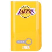NBA L-78 7800毫安移动电源 手机通用型充电宝 黄色(湖人队)