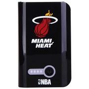 NBA L-78 7800毫安移动电源 手机通用型充电宝 黑色(热火队)