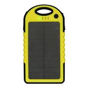 Anytime 太阳能板充电器移动电源 苹果5S三星小米手机通用 AS-5000 黄色