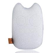 风彩 龙猫款手机平板通用充电宝 安全智能移动电源 9000毫安 清新米色