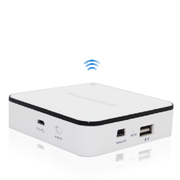 酷络 无线路由器U6无线硬盘 移动Wifi充电宝移动电源 白色  16G