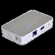 sunreed A10 移动电源+电信3G路由器随身WIFI 无线存储 多媒体共享播放
