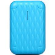迪比科 T10天空蓝 智能安全10000mAh移动电源 旅行箱时尚充电宝