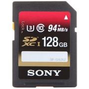 索尼 128G UHS-3 SDXC高速存储卡(Class10)读速可达94MB/s,写速可达60MB/s